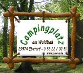 logo campingplatz waldbad ebstorf